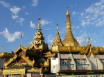 Sule Buddhist temple in Yangon.