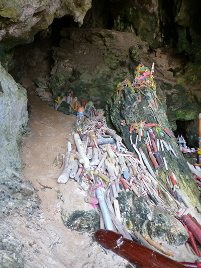 Penis cave 2. It's not a contest but I think cave 2 has the biggest collection.
