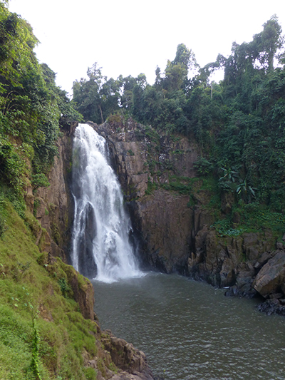 Largest waterfall in the park.