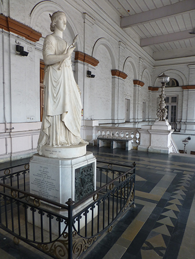 Queen Victoria statue.