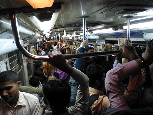 Kolkata city train