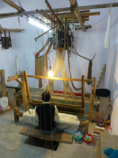Silk weaver.