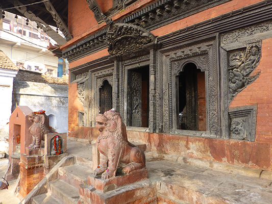 Nepalese Hindu temple