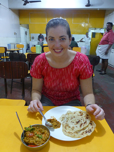 Our favorite restaurant in Fort Kochi. Great food and great prices. Our favorites included the Chicken and Pea Curry and Veg Korma with Paratha bread.