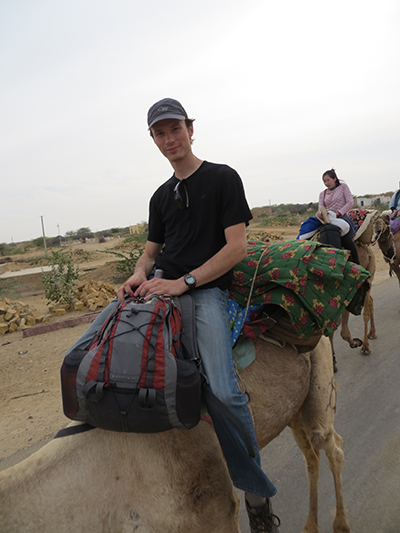 Dave on his camel