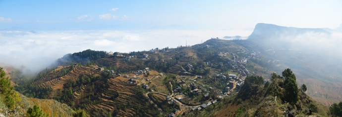 Another panoramic from the hike.