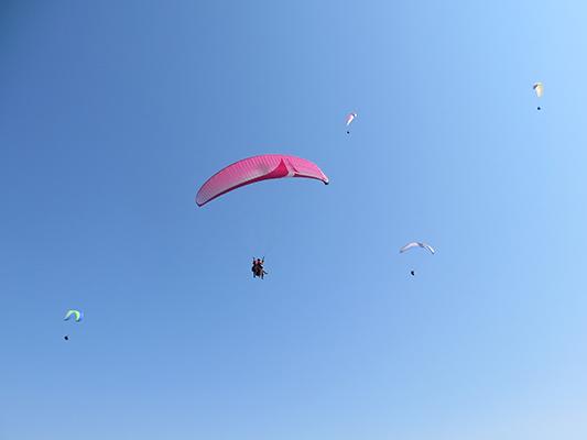 Jorge gliding.