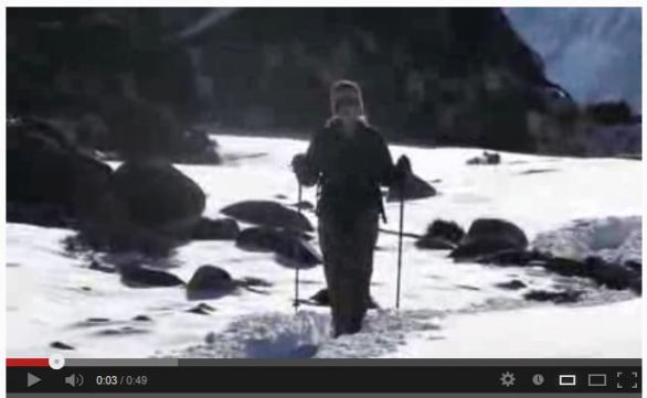 Click on the image to see a video of Sarah hiking in the beautiful Langtang Valley.