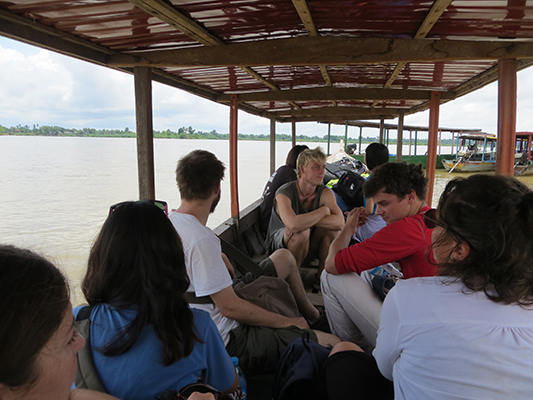 Final boat ride to Don Khone.
