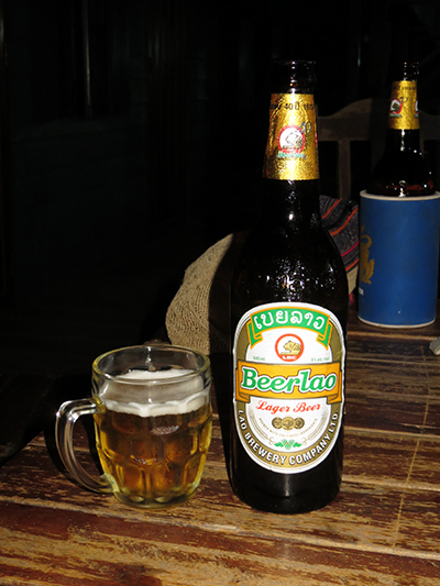 Our first of Beer Lao.